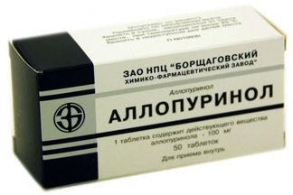 Аллопуринол: инструкция по применению