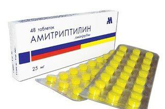 Амитриптилин: инструкция по применению