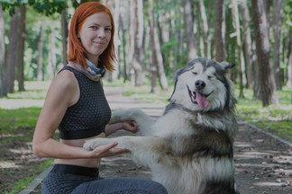 Animal-фитнес: кинолог о том, как полюбила спорт и нашла мужа благодаря собаке