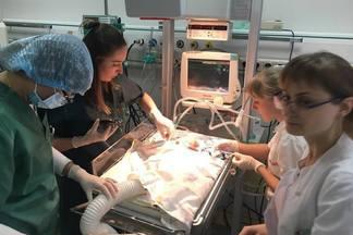 Институт сердца МОЗ Украины провел успешную операцию по удалению тромба у недоношенного ребенка