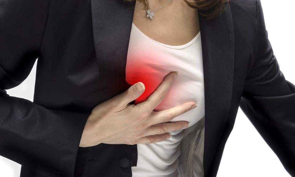 Боль в грудине справа: причины